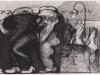 Schwarzweiß Zeichnung Peter Dworak 001