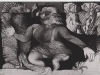 Schwarzweiß Zeichnung Peter Dworak 002