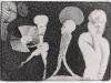 Schwarzweiß Zeichnung Peter Dworak 011