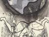 Schwarzweiß Zeichnung Peter Dworak 021