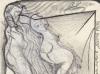 Schwarzweiß Zeichnung Peter Dworak 024
